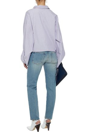 ACNE STUDIOS The Boy mid-rise slim-leg jeans