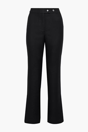ACNE STUDIOS Wool-twill straight-leg pants