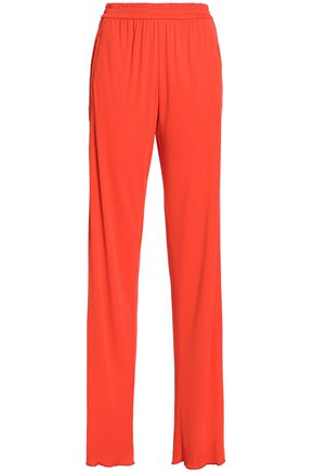 EMILIO PUCCI Stretch-jersey straight-leg pants