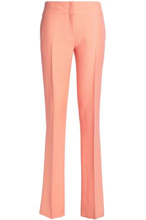 EMILIO PUCCI Wool and silk-blend crepe straight-leg pants