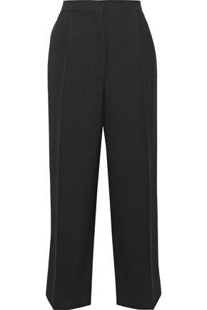 ACNE STUDIOS Iris cropped wool-twill straight-leg pants