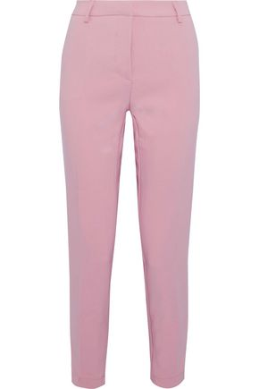 W118 by WALTER BAKER Cropped crepe slim-leg pants