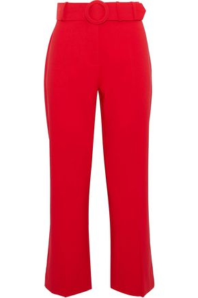 W118 by WALTER BAKER Cropped cady flared pants