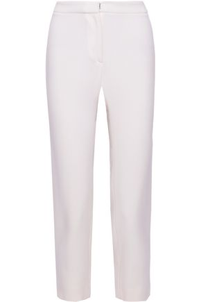 CAROLINA HERRERA Cropped wool straight-leg pants