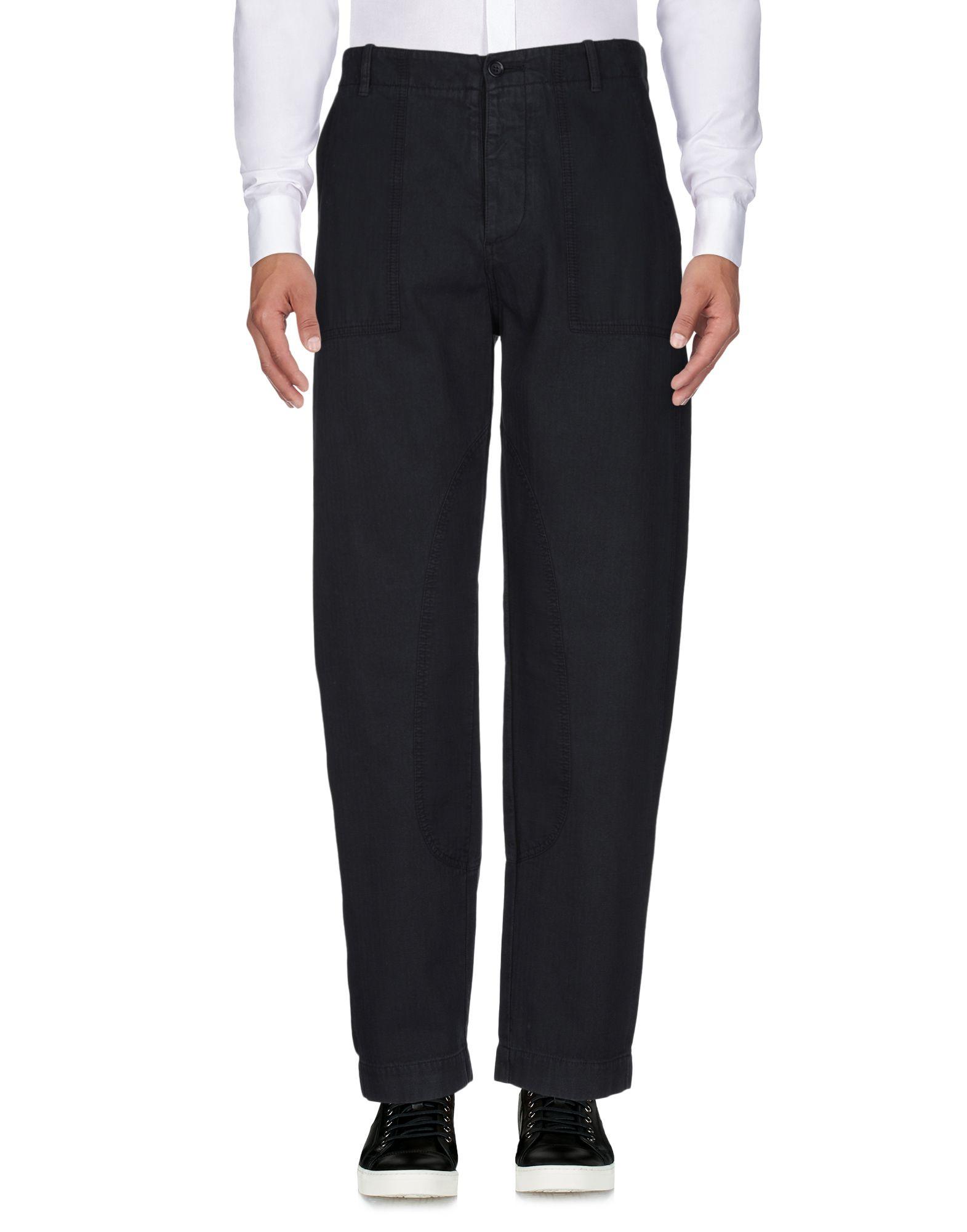 《送料無料》YMC YOU MUST CREATE メンズ パンツ ブラック 34 コットン 100%