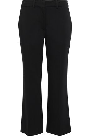 SIMONE ROCHA Cropped stretch-ponte straight-leg pants