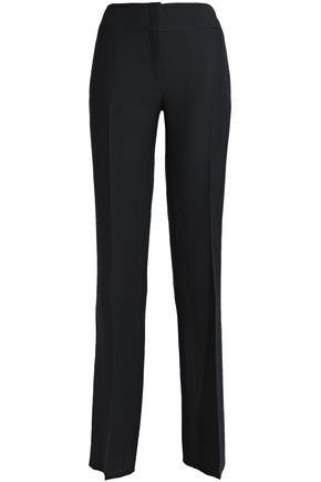 EMILIO PUCCI Wool and silk-blend straight-leg pants