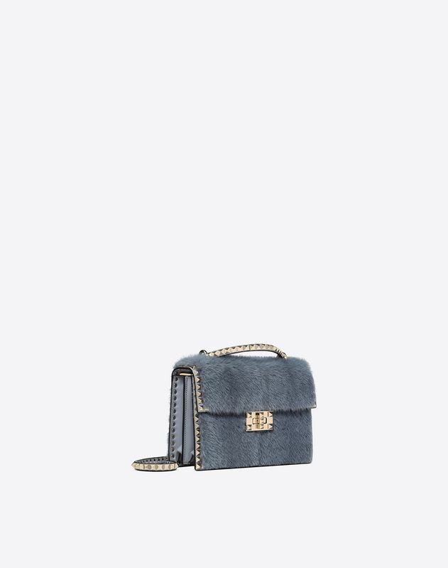 Mink Rockstud No Limit Crossbody Bag