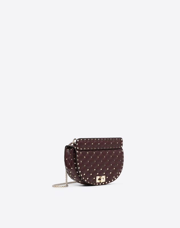 Medium Rockstud Spike Saddle Bag