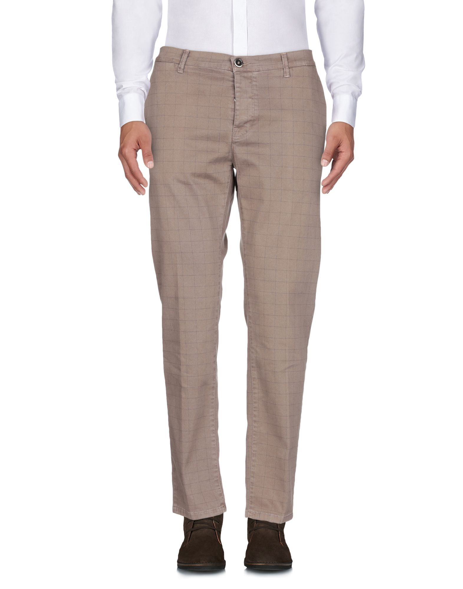 ADDICTION Casual Pants in Light Brown