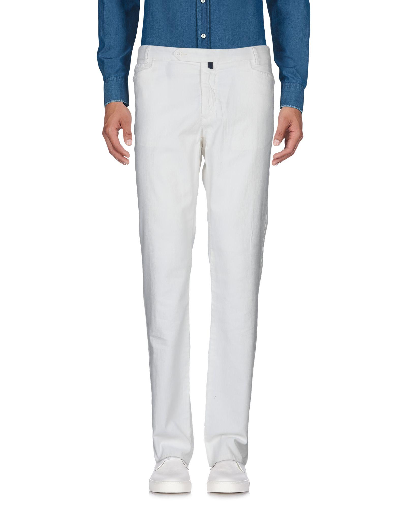《セール開催中》PAUL TAYLOR メンズ パンツ ホワイト 54 コットン 100%