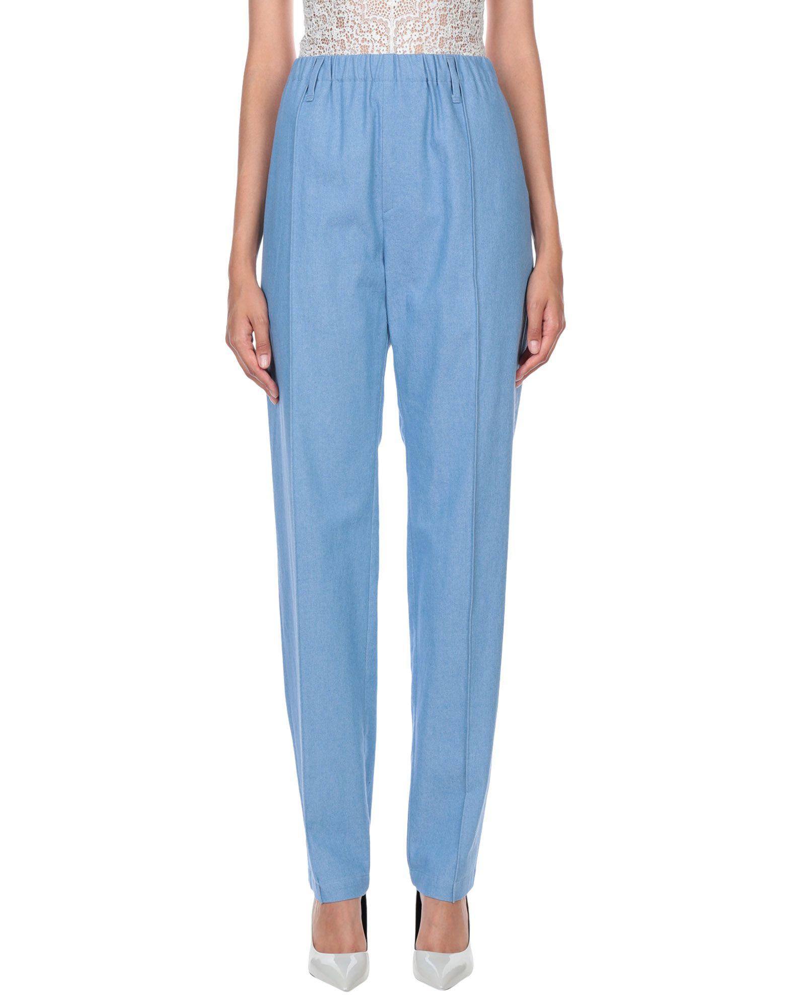 JULIEN DAVID Джинсовые брюки цены онлайн