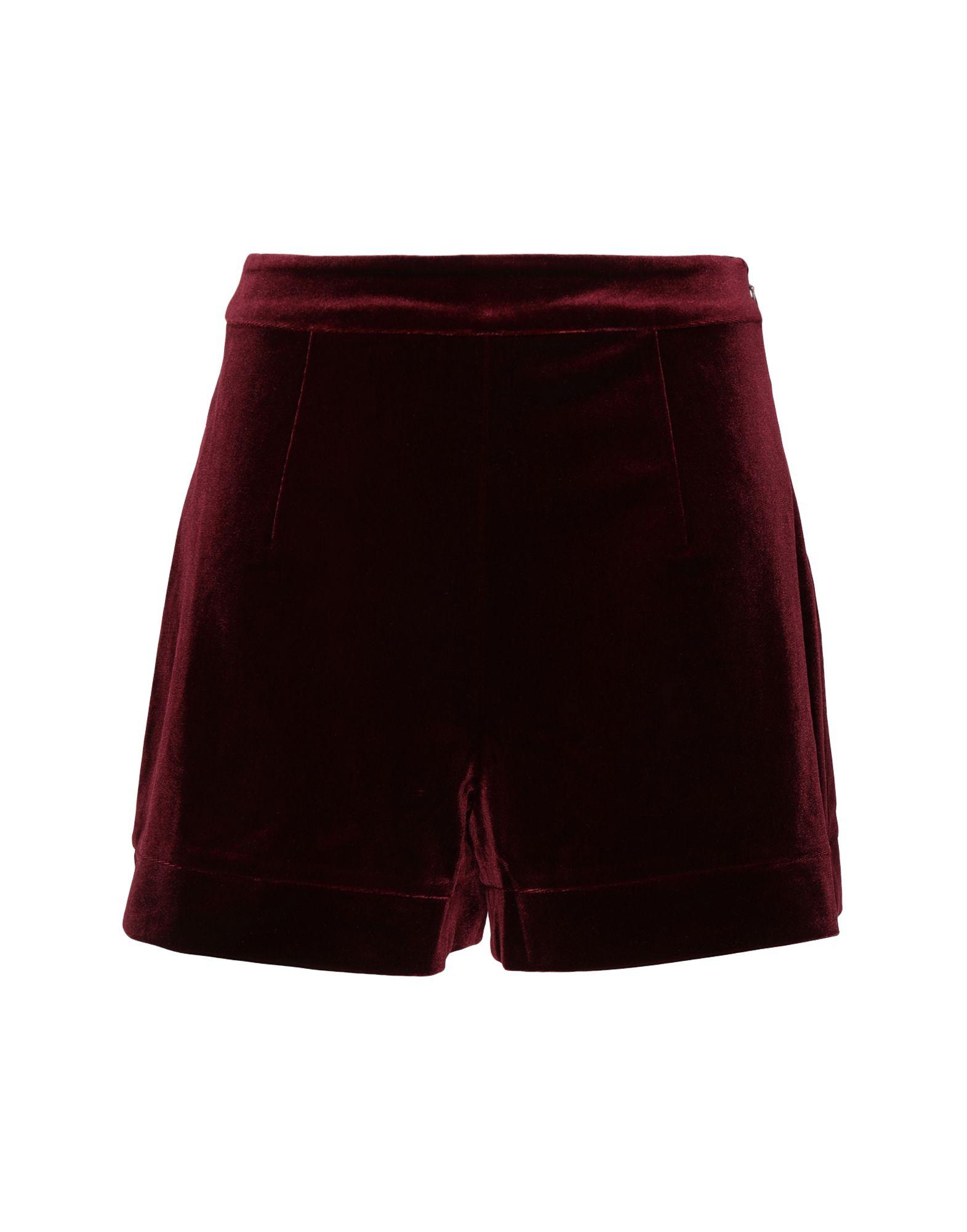 8 by YOOX Повседневные шорты шорты с высокой талией и геометрическим рисунком
