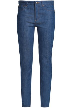 A.P.C. Faded high-rise skinny jeans