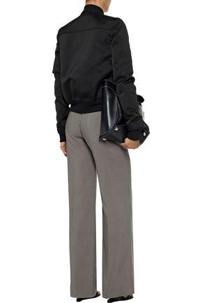 RICK OWENS Dietrich wool and silk-blend wide-leg pants
