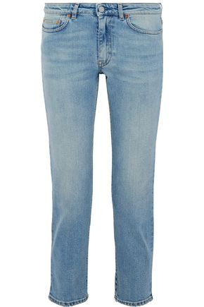 ACNE STUDIOS Row Lit Clean low-rise slim-leg jeans