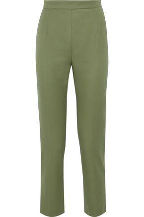 PIERRE BALMAIN Cropped wool tapered pants