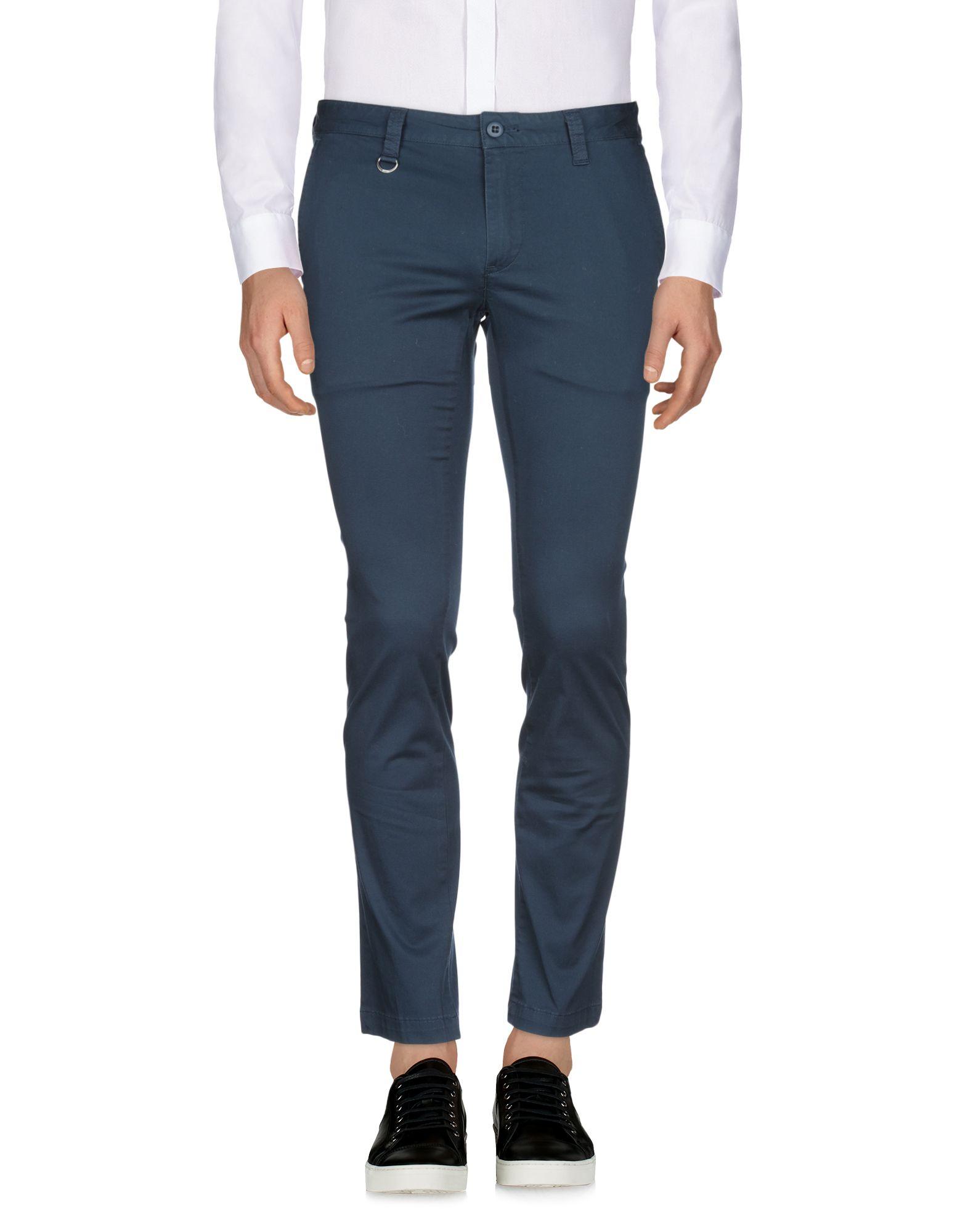 SOPHNET. Casual Pants in Dark Blue