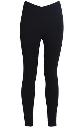 MONROW Stretch-jersey leggings