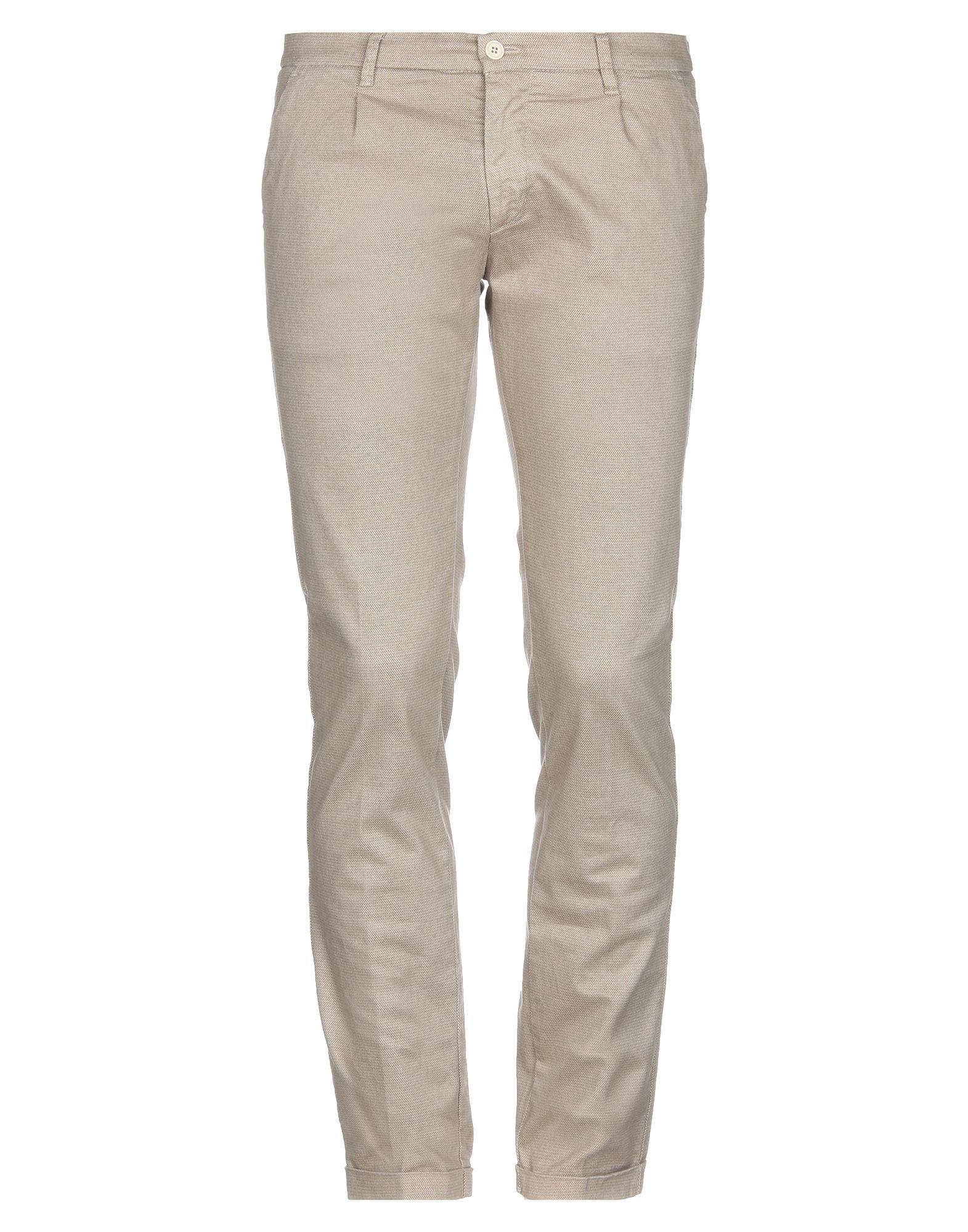《期間限定セール開催中!》DOUBLE EIGHT メンズ パンツ ベージュ 48 コットン 97% / ポリウレタン 3%