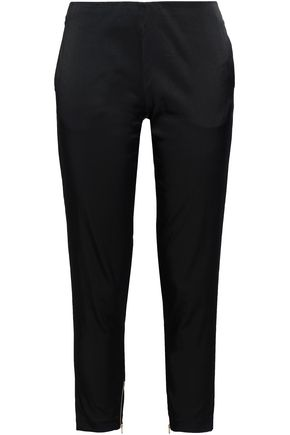 DAY BIRGER ET MIKKELSEN Cropped twill straight-leg pants