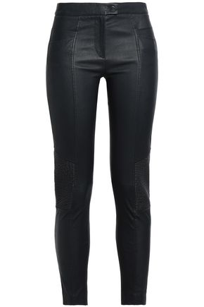 DAY BIRGER ET MIKKELSEN Leather skinny pants