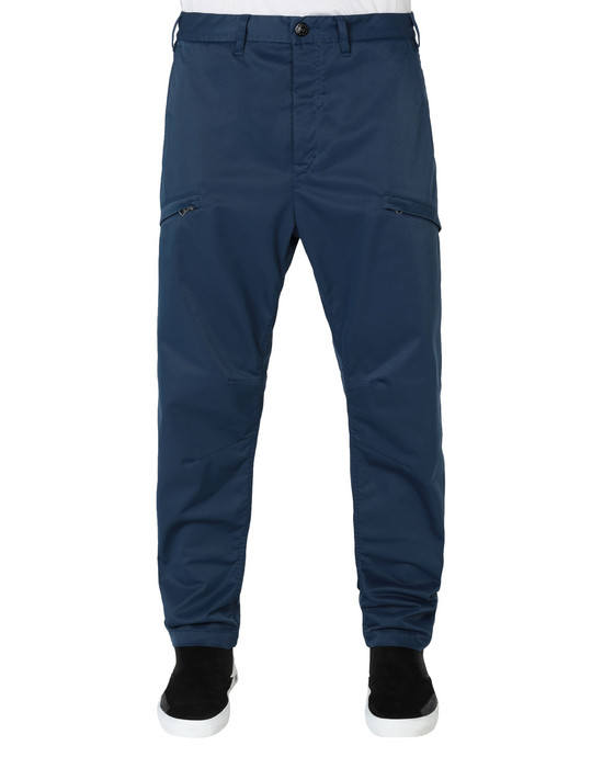 30105 WIDE TROUSERS WITH ARTICULATION TUNNELS (POLY-OPTIMA) SINGLE LAYER FABRIC - HIGH PRESSURE GARMENT DYEING