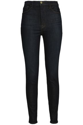 High Rise Skinny Jeans by Frame