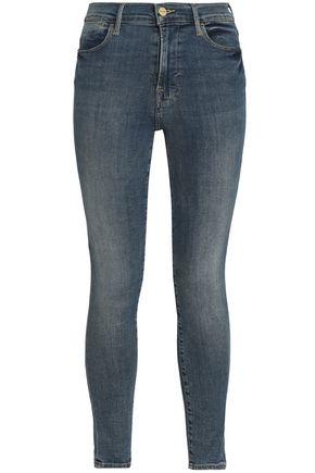 FRAME High-rise skinny-leg jeans