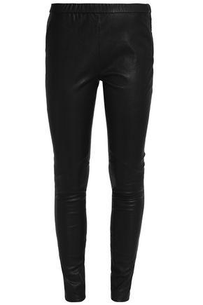 DAY BIRGER ET MIKKELSEN Leather skinny pants