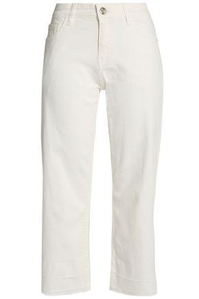 DAY BIRGER ET MIKKELSEN Cropped mid-rise straight-leg jeans