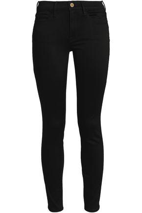 FRAME High-rise skinny jeans