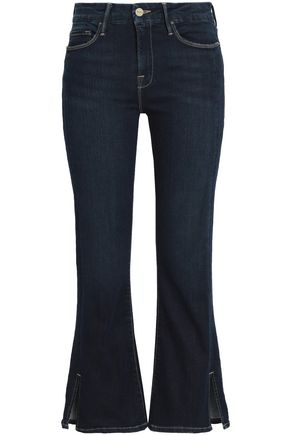 FRAME Mid-rise kick-flare jeans