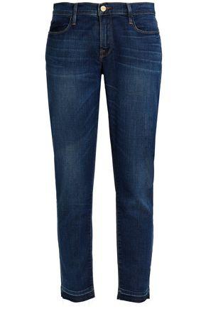 FRAME Mid-rise skinny-leg jeans