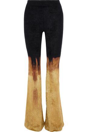 BALMAIN Dégradé chenille bootcut pants