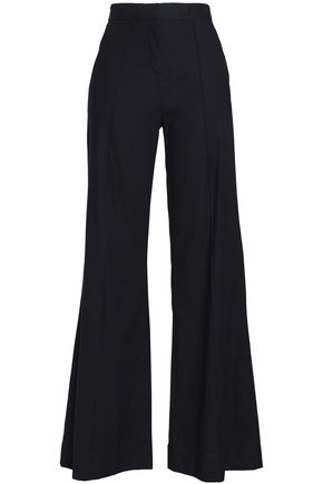 Linen Blend Woven Pants by Diane Von Furstenberg