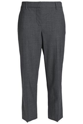 BRUNELLO CUCINELLI Wool-blend straight-leg jeans
