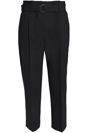 BRUNELLO CUCINELLI Cropped wool-blend tapered pants