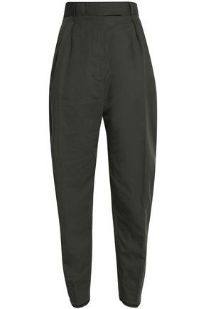 HAIDER ACKERMANN Linen and cotton-blend tapered pants