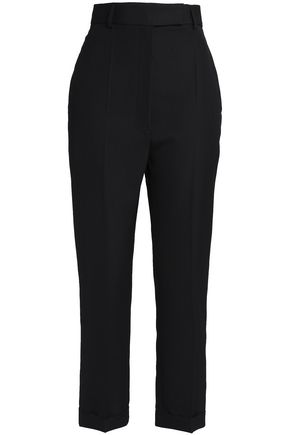 HAIDER ACKERMANN Wool-crepe straight-leg pants