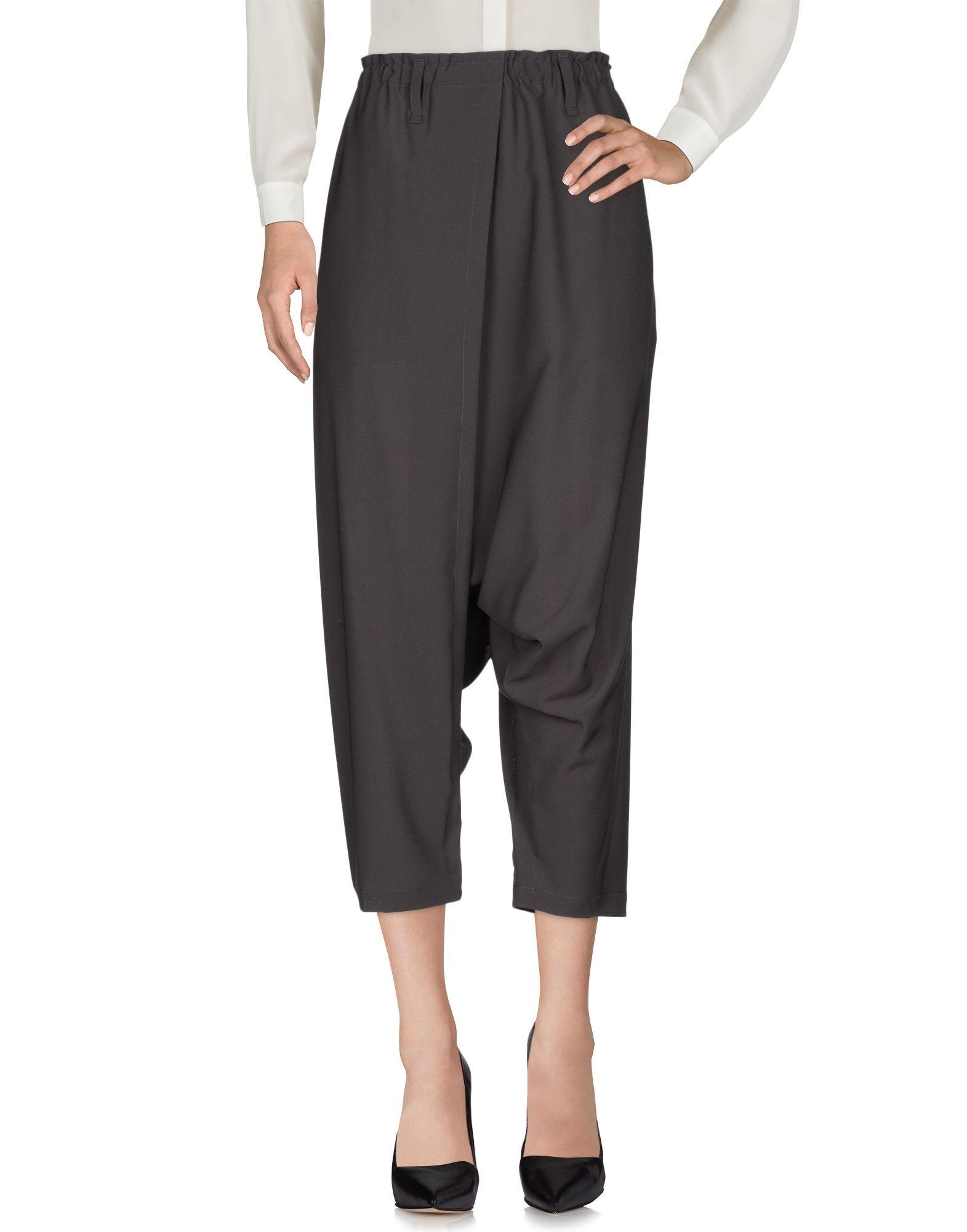 ISSEY MIYAKE Повседневные брюки карлос ткань йога брюки дамы открытый спорт работает плотно эластичный фитнес танца брюки cp13507 серый l код