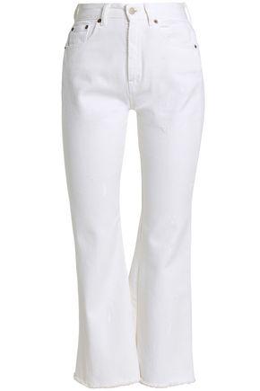 MM6 MAISON MARGIELA High-rise kick-flare jeans