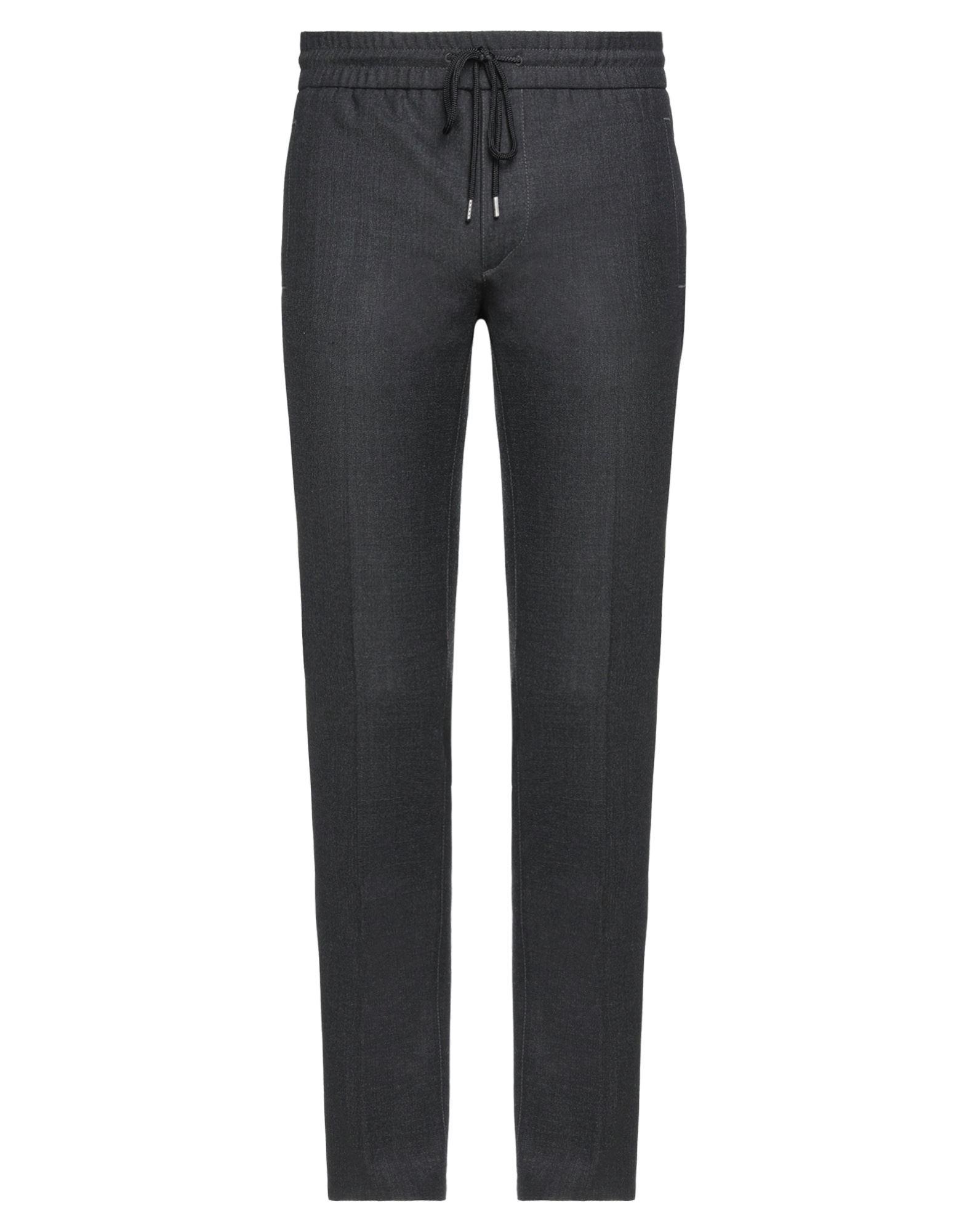 《セール開催中》WOOLRICH メンズ パンツ ブラック L ポリエステル 53% / バージンウール 43% / ポリウレタン 4%