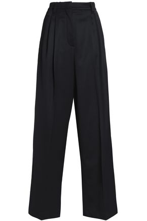 BRUNELLO CUCINELLI Wool-blend wide-leg pants