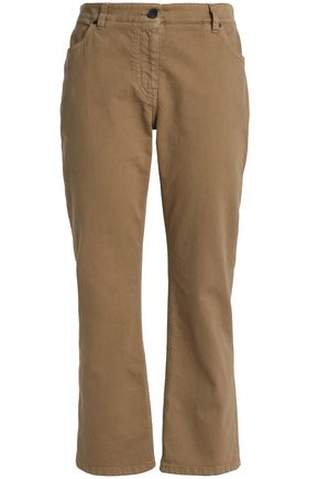 BRUNELLO CUCINELLI Cropped mid-rise flared jeans