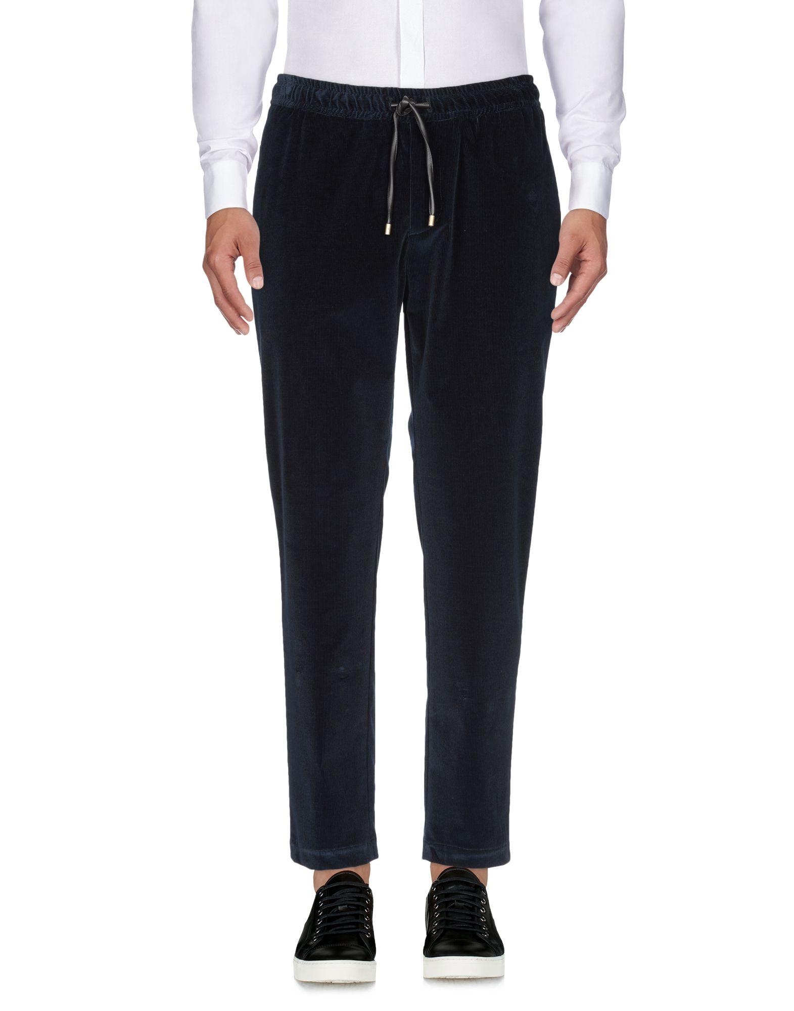 BERNARDO GIUSTI Casual Pants in Dark Blue