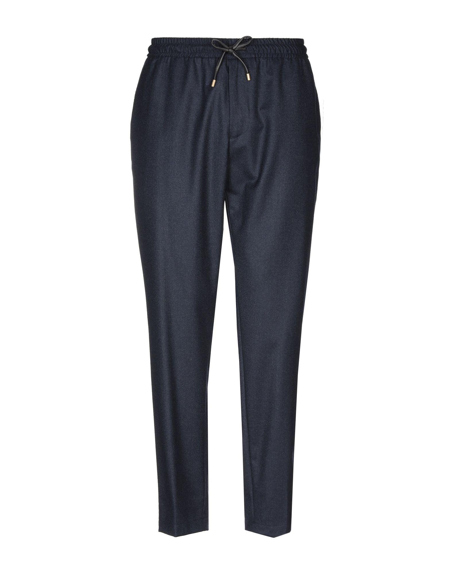 《送料無料》BERNARDO GIUSTI メンズ パンツ ダークブルー 54 ウール 100%