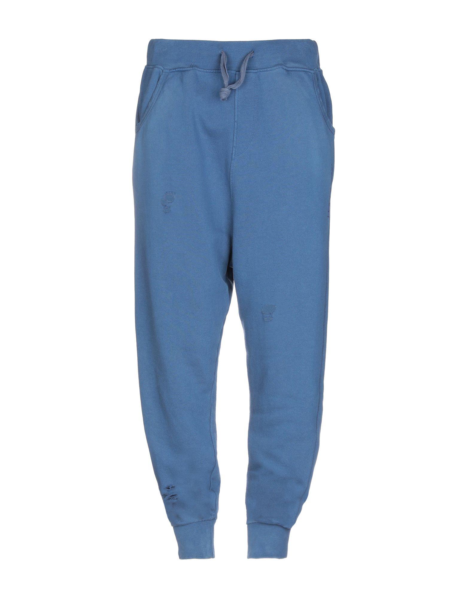 《送料無料》HAPPINESS メンズ パンツ ブルー XL コットン 100%