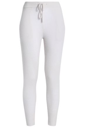 JAMES PERSE Ribbed cashmere skinny pants