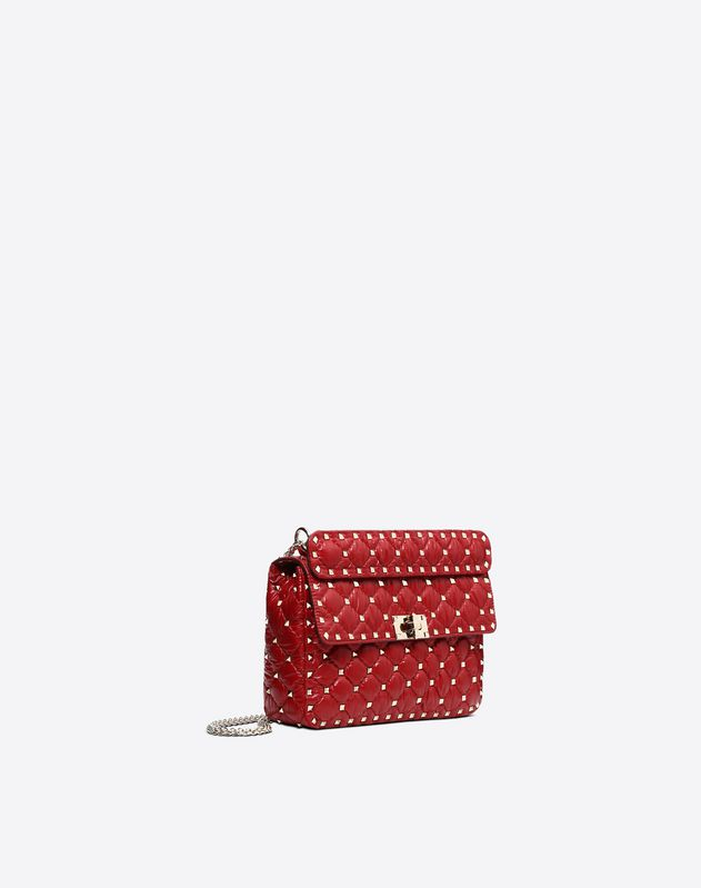 MONCLER QUILTED NYLON Medium Spike Bag